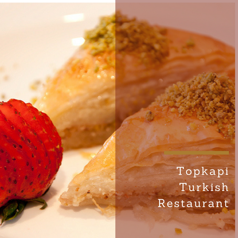 Jenn Does Stuff:  Dining at Topkapi